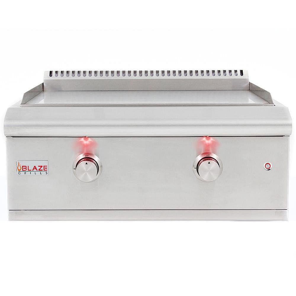 BLAZE Plaque de cuisson au gaz propane Blaze avec lumières