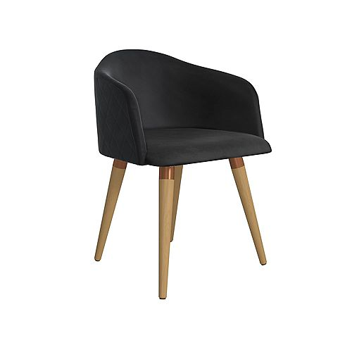 Kari Accent Chair in Black