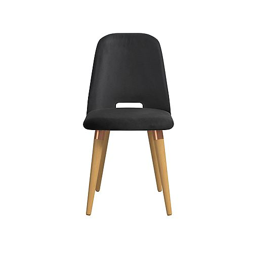 Selina Accent Chair in Black