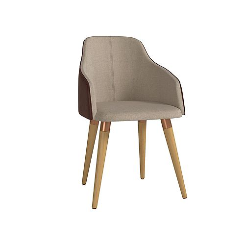 Martha Accent Chair in Brown