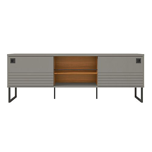 Loft 70.48 TV Stand in Grey and Wood