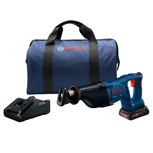 18V 1-1/8 inch D-Handle Reciprocating Saw Kit with (1) CORE18V 4.0 Ah Compact Battery
