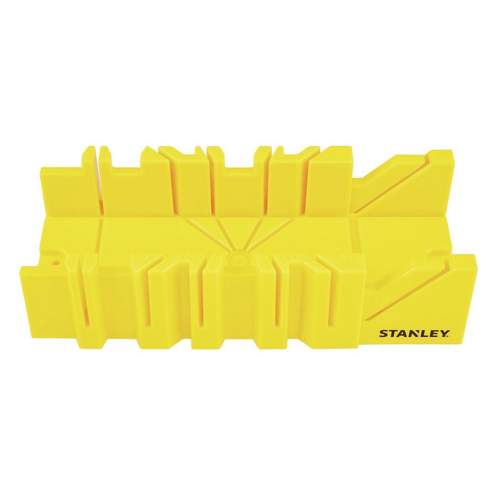 STANLEY BOÎTE À ONGLETS EN PLASTIQUE DE 12 POUCES