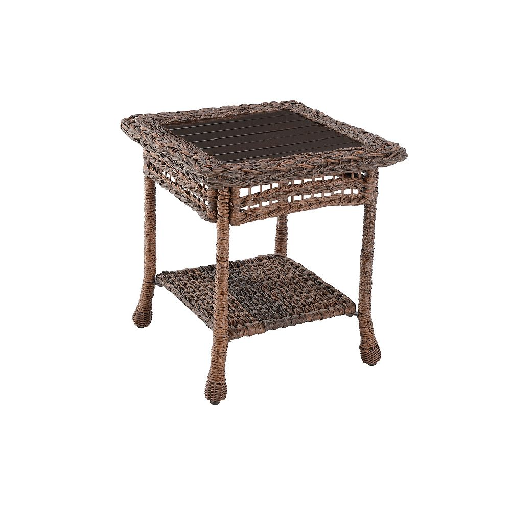 W Unlimited Outdoor Rattan Side Table
