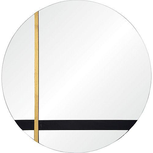 Notre Dame Design Harmer Round  Decorative Mirror