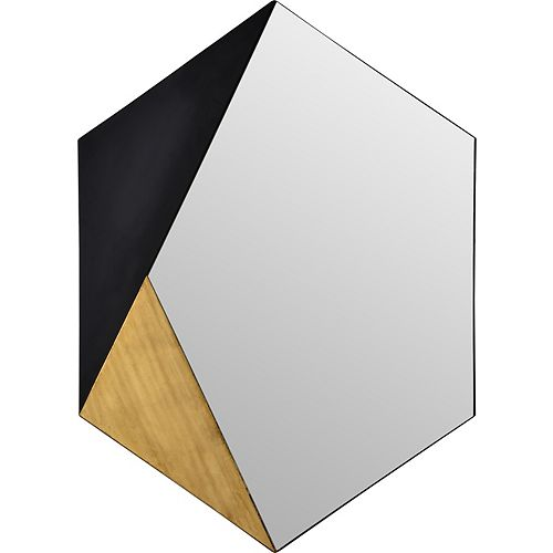 Cade Hexagonal  Decorative Mirror