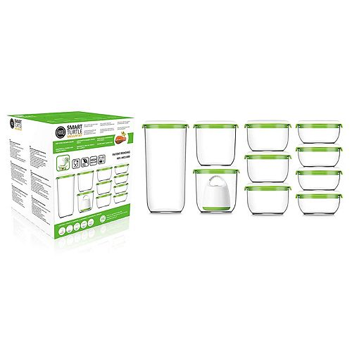 FOSA Madrid Collection Vacuum Food Storage System Deluxe Set