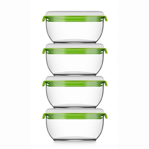 Madrid Collection Vacuum Food Storage System Additional Container Set D