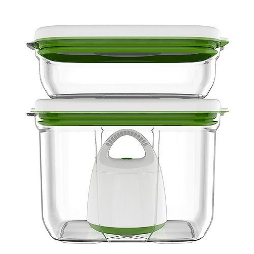Barcelona Collection Vacuum Food Storage System Standard Set