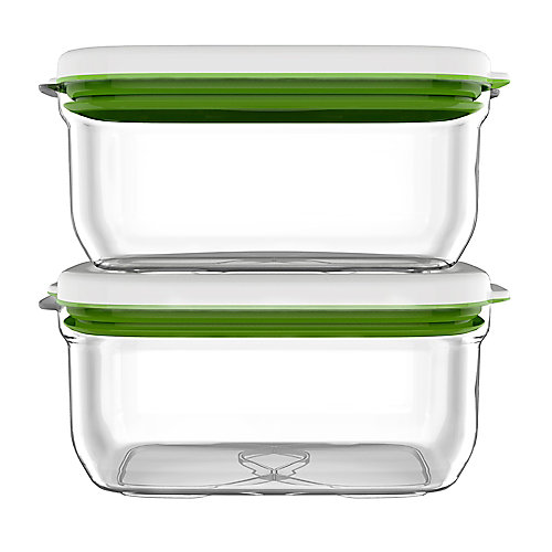Barcelona Collection Vacuum Food Storage System Additional Container Set B