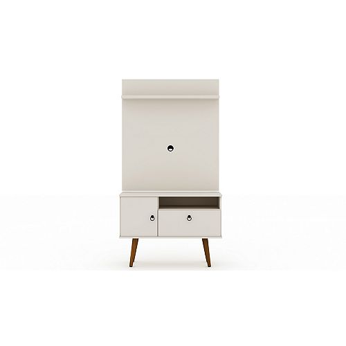 Tribeca 35.43 TV Stand and Panel in Off White