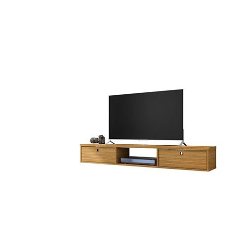 Liberty 62.99 Floating Entertainment Center in Cinnamon