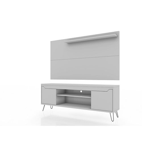 Baxter 62.99 TV Stand and Liberty Panel in White