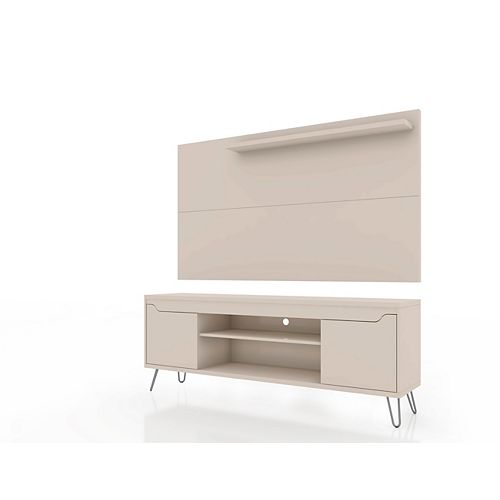 Baxter 62.99 TV Stand and Liberty Panel in Off White