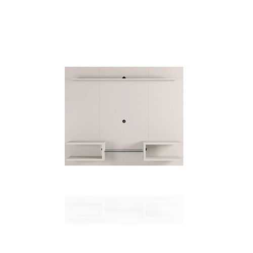 Plaza 64.25 Floating Entertainment Center in Off White
