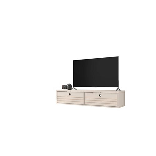 Liberty 42.28 Floating Entertainment Center in Off White