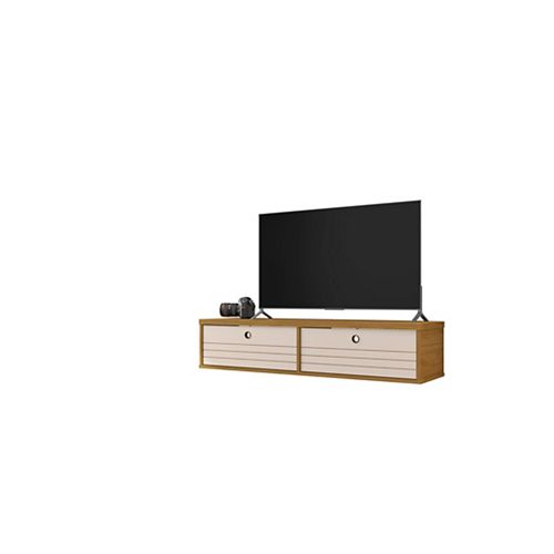 Liberty 42.28 Floating Entertainment Center in Cinnamon and Off White