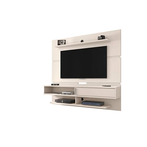 Astor 70.86 Floating Entertainment Center in Off White