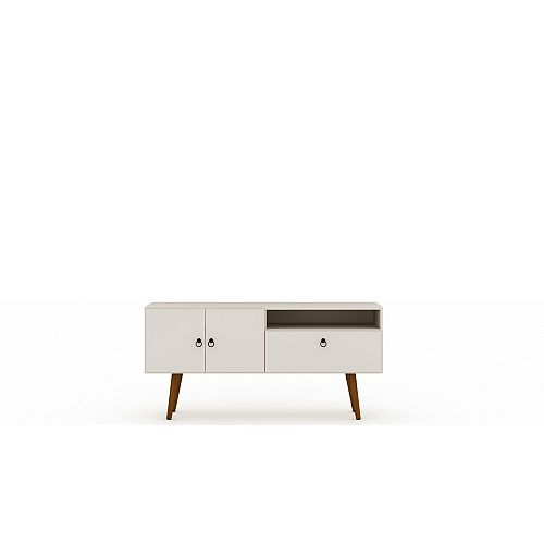 Tribeca 53.94 TV Stand in Off White