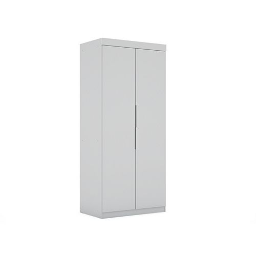 Mulberry 2.0 Sectional Wardrobe Closet in White