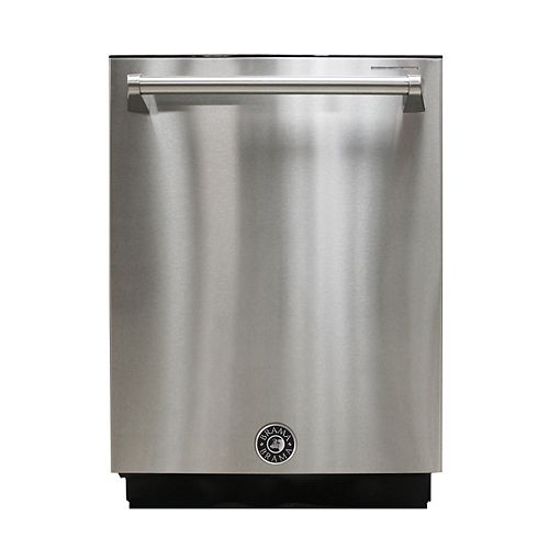 Vinotemp Top Control Built-In Dishwasher  Stainless Steel,  44 dBA