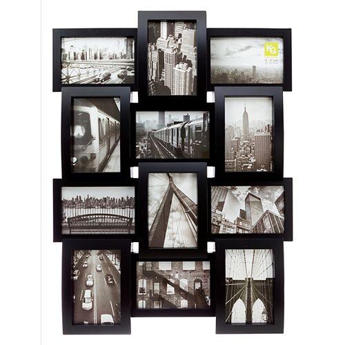 Cadre collage Curve KG, 12 photos 4x6 po