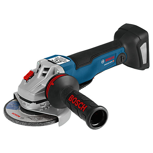 18V EC Brushless 4-1/2 In. Angle Grinder with No Lock-On Paddle Switch (Bare)