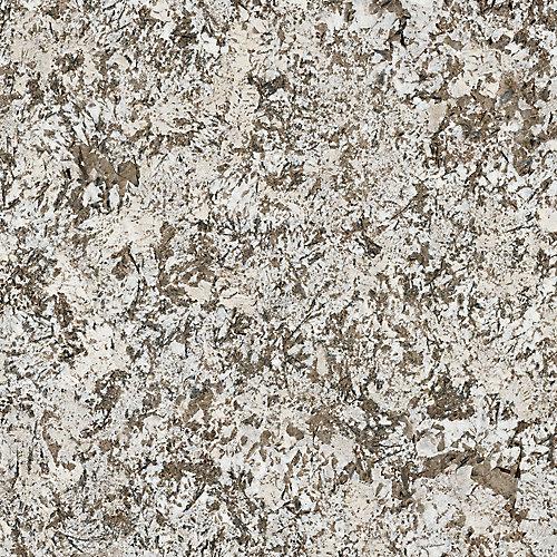 Bianco Antico 96-inch x 48-inch Laminate Sheet in Etchings Finish