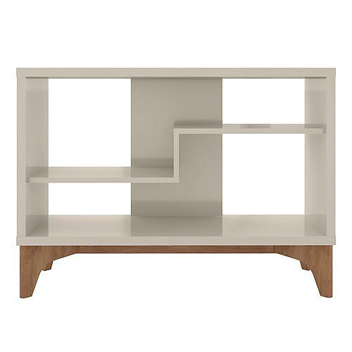 Manhattan Comfort Gowanus Accent Display Sideboard in Off White