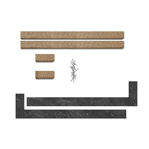 2320-SD Universal End Cap Kit - Urban Marble
