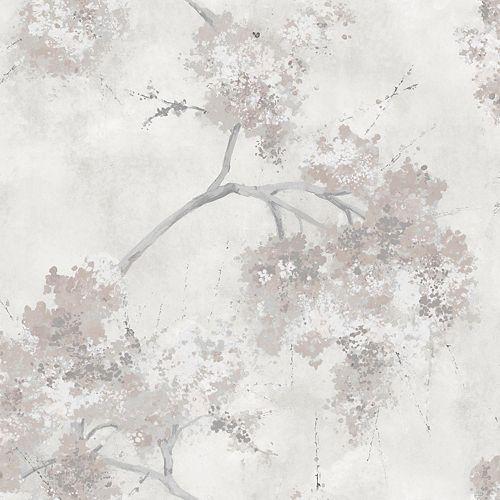 Weeping Cherry Tree Blossom Peel & Stick Wallpaper