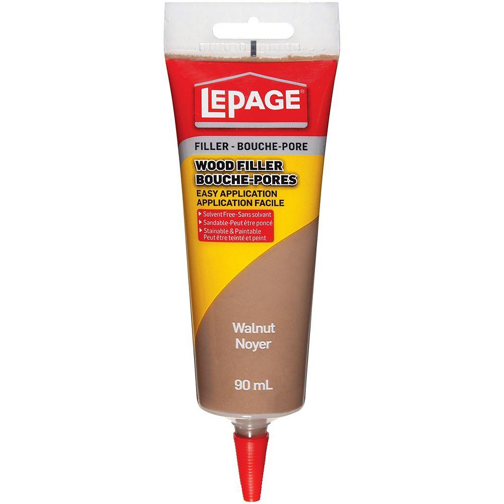 LePage 90 mL Bouche pores pour bois noyer