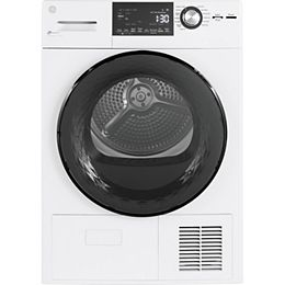 4.1 Cu. Ft.  Compact Condenser Dryer with Sensor Dry and Drum in Stainless Steel