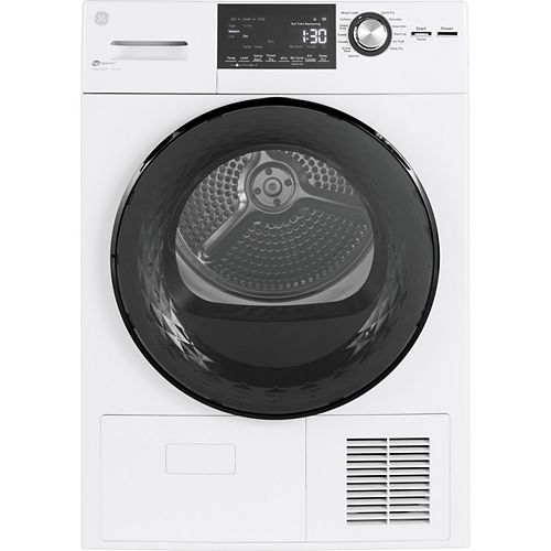 4.1 Cu. Ft. Energy Star Compact Condenser Dryer with Sensor Dry and Drum in Stainless Steel