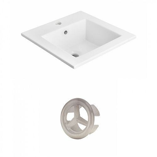 18 inch D Ceramic Top