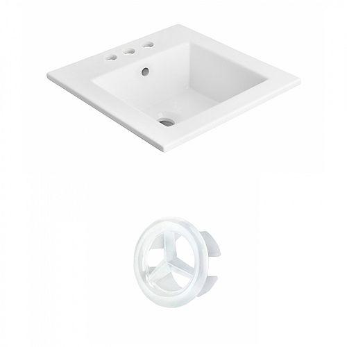 21 inch W 3H4 inch Ceramic Top