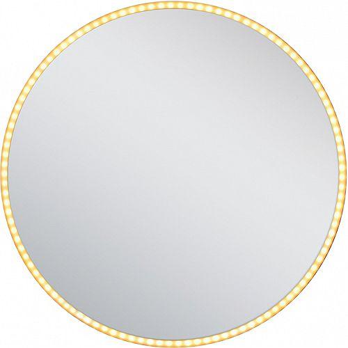 24 po Miroir rétroéclairé à LED H