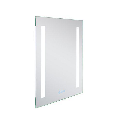20 po Miroir rétroéclairé à LED W