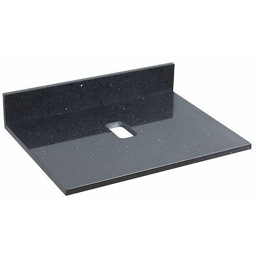 24 inch W Stone Top