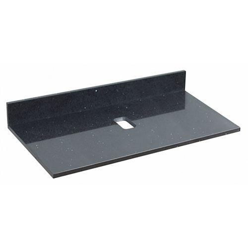 36 inch W Black Stone Top