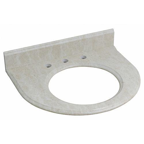24.75 inch W Stone Top