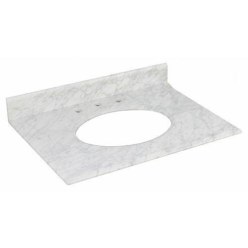 31.25 inch W Stone Top
