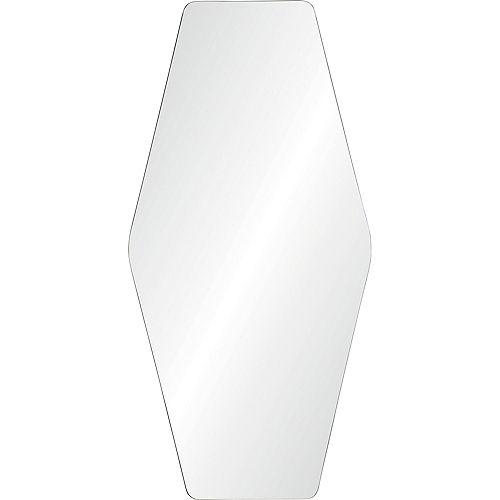 Notre Dame Design Glacie Hexagonal Decorative Mirror
