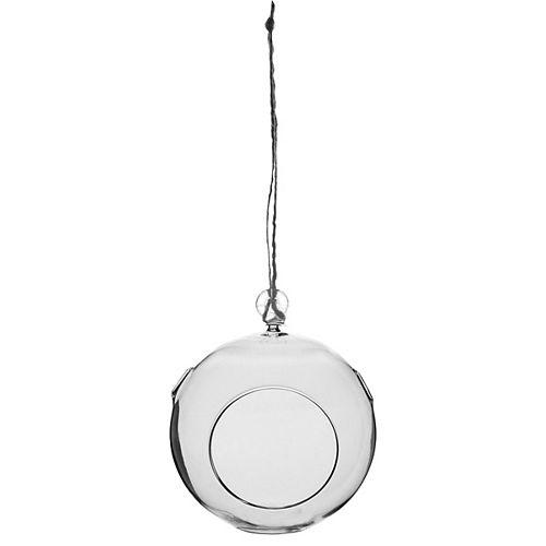 Les Entreprises Marsolais 4-inch Round Hanging Terrarium