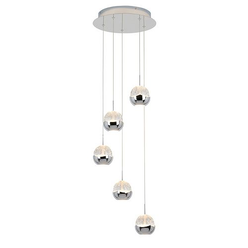 Oracle 5 Integrated LED Pendant
