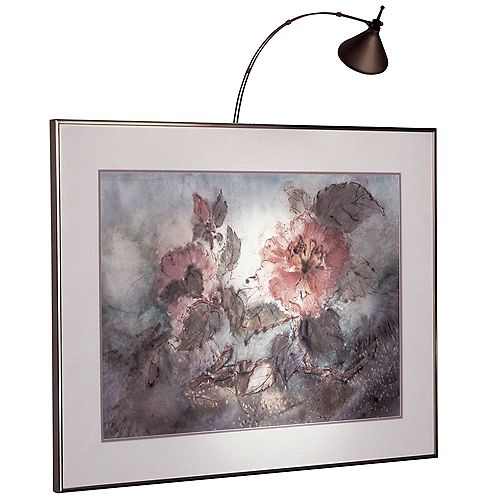 18 inch Hardwired Picture Light, Oil Brushed Bronze