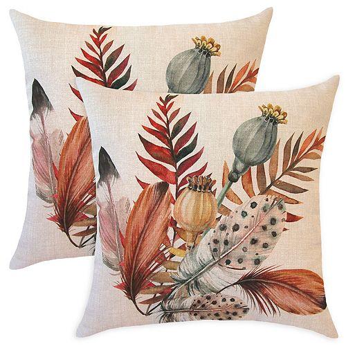 2 feuilles de plumes d'oreiller - 20 x 20 po