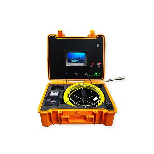 Forbest Portable 130 ft. Color LED Sewer/Drain/Pipe Inspection Camera w/Built in 512HZ Sonde Transmitter