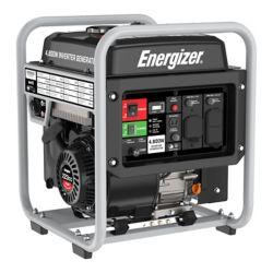 Energizer eZV4800 Portable Inverter Generator 4,800W Peak 3,600W Running, GFCI Outlets