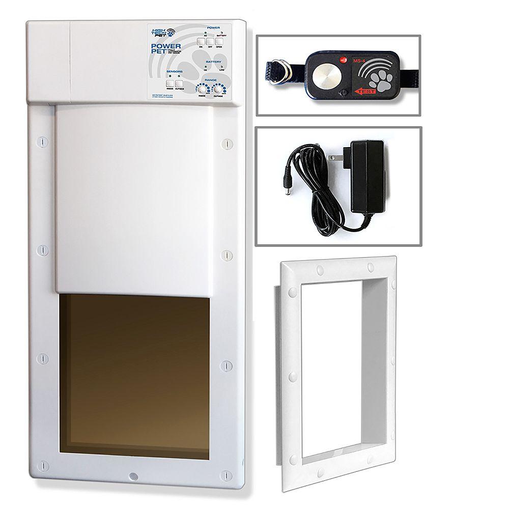 High Tech Pet Products PX-1 - Porte pour animaux de compagnie Med Power pour installations de portes et de murs